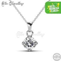 Classical Pendant Kalung Kristal - Her Jewellery Crystals Swarovski®