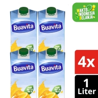 Buavita Juice Kemasan Orange 1L Multi Pack