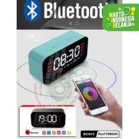SONY S65 LED Clock Alarm Bluetooth Speaker EQ Stereo Mirror Screen