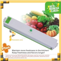 Food Vacum Vakum Vacuum Sealer Makanan 100watt Portable Sealing System