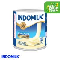 Indomilk Kental Manis Plain 375 gr X 4 Pcs