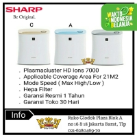 Sharp FP F30Y- A/C/H Air Purifier Penjernih Udara
