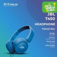 JBL On-Ear Headphone T450 - Biru