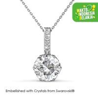 Kristine Pendant Kalung Kristal - Her Jewellery Crystals Swarovski®