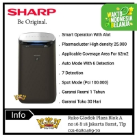 SHARP AIR PURIFIER FP-J80Y-H [Cover 62 m²]Smart Operation with AIot
