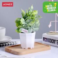 AONEZ Artificial Flower Bunga hias dengan pot bunga Sun flower