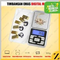 Timbangan Emas Digital Mini Batu Akik 200 gr 200 gram presisi 0.01G