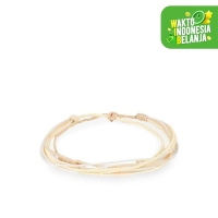 Gelang Tali WHITE SAND TuTu and Co.