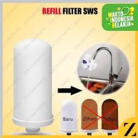Refill Isi Ulang SWS Water Purifier Filter Air Cartridge Bahan Keramik