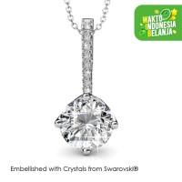 Elegant Pendant Kalung Kristal - Crystals Swarovski® by Her Jewellery