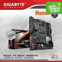Motherboard Gigabyte X570 Aorus Elite (AM4, AMD, X570, DDR4, USB3.2)