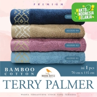 Terry Palmer Morning Whistle Handuk Mandi Asli Bamboo Towel 70x135