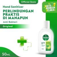Dettol Hand Sanitizer Original 50 ml screw cap bottle