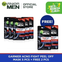 Garnier Acno Fight Peel Off Mask 5+2 Bundle