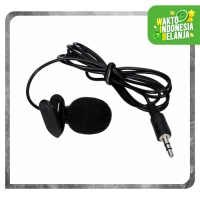 3.5mm MIC YOUTUBER Microphone with clip - Clip Mic - Clip on Mic