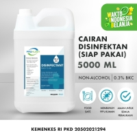 Disinfectant Antiseptik Cairan Disinfektan PROKLEEN 5L Berat Sesuai - Siap Pakai