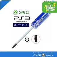 Obeng Bintang Torx T8 T9 T10 Stik Xbox PS3 Slim Super Slim PS4
