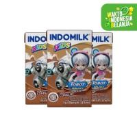 SUSU UHT INDOMILK KIDS CHOCO 115 ML X 3 Pcs