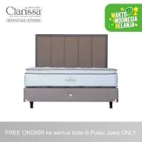 Clarissa Kasur Spring Bed WellFresh Full Set - 100x200