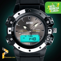Jam tangan Pria SKMEI Sport Watch 0821 Original Anti Air - Black