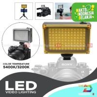 Lighting LED COSTA 96 Lampu Studio Foto,Vide, DSLR Smartphone Bi-Color