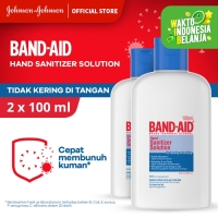 Band Aid Hand Sanitizer Solution [100 mL/ 2 pcs]