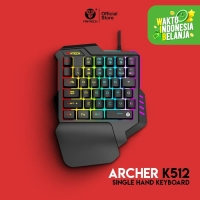 Single Hand Keyboard Gaming Fantech K512 Archer