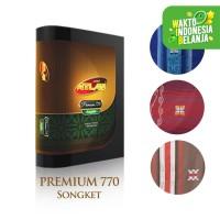 Grosir Sarung Atlas Premium 770 Songket Campur 10 pcs