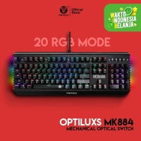 FANTECH MK884 OPTILUXS OPTICAL MECHANICAL GAMING KEYBOARD