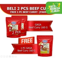 Beef Curry 160g Beli 2 pcs GRATIS 1 pc (GG51)