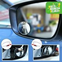 Kaca Spion Blindspot Mirror Mobil Motor Wide Angle Adjustable 360