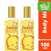 Zwitsal Eau De Toilette Body Mist 100Ml Twin Pack
