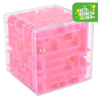Celengan 3D Ball Maze Labirin Speed Puzzle Cube Kotak Tabungan