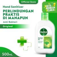 Dettol Hand Sanitizer Original 500ml fliptop bottle