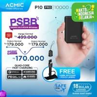 ACMIC P10PRO 10000mAh Mini PowerBank Quick Charge 3.0 + PD