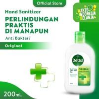 Dettol Hand Sanitizer Original 200ml fliptop bottle