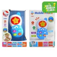 Mainan Handphone HP Bayi Musik - Baby sound music phone