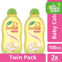 Zwitsal Baby Cologne Natural Soft Touch 100Ml Twin Pack