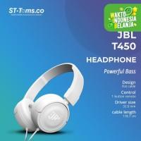 JBL On-Ear Headphone T450 - Putih