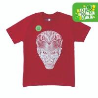 Azura Kaos Anak Green G Garis Glow Merah