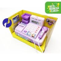 Mainan Anak Kasir Kasiran Cash Register Ungu Frozen 5525