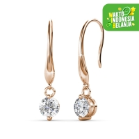 Anting Kristal Hook Earrings Crystals Swarovski® by Her Jewellery