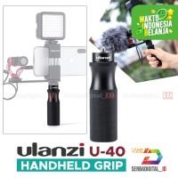 Ulanzi U-40 Metal Handle Vlogging Hand Grip for Smartphone & Camera