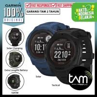 Smartwatch Garmin Instinct Solar GPS Sport Jam Original Garansi Resmi