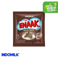 Cap Enaak Krimer Kental Manis Cokelat Sachet 37 gr X 6 Pcs