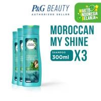 Herbal Essences Shampoo Moroccan My Shine 300 ml - Paket isi 3