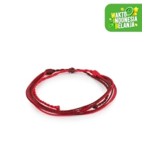 Gelang Tali SCARLET TuTu and Co.