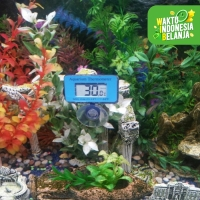 Thermometer Digital Celup (Tahan Air) untuk Fish Tank / Aquarium