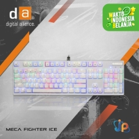 Keyboard Gaming Mechanical Digital Alliance Meca Fighter Ice RGB