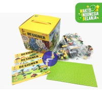 Mainan Anak Lego Klasik Panlos Designer Block BASEPLATE 625 Pcs 699008